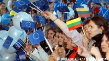 EU-Beitritt 2004 Litauen