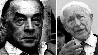 Literatur-Klassiker Ernst Jünger und Erich Maria Remarque (Foto: ap)