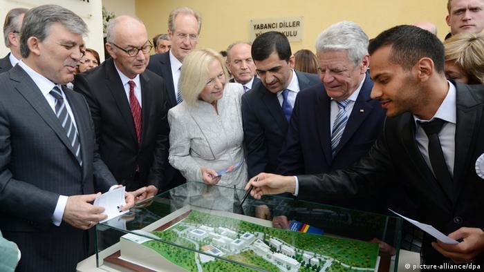 Eröffnung Türkisch-Deutsche Universität in Istanbul 29.04.2014