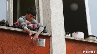 Syrische Flüchtlinge in Bulgarien (Foto: DW)