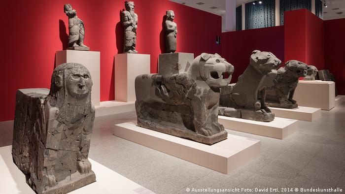 Экспозиция в Федеральном выставочном зале Бонна