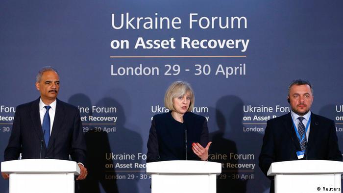 Konferenz zur Ukraine Staatsvermögen 29.04.2014 London