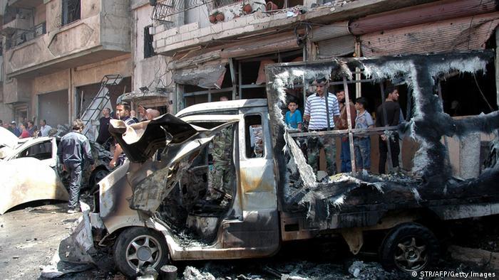 Autobombe in der syrischen Stadt Homs