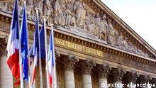 Frankreich Nationalversammlung Außenaufnahme