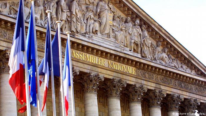 Здание Национального собрания Франции