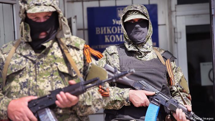 Ostukraine Krise 28.04.2014 Kontantinowka