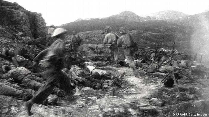 Vietnam Frankreich Schlacht von Dien Bien Phu
