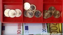 Symbolbild Euro Geldkasse