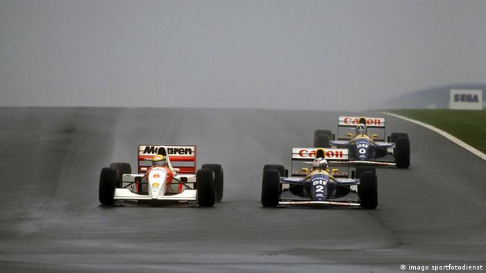 Ayrton Senna Archiv 1993 (imago sportfotodienst)
