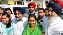 Bildergalerie Indien Wahlen 30.04.2014