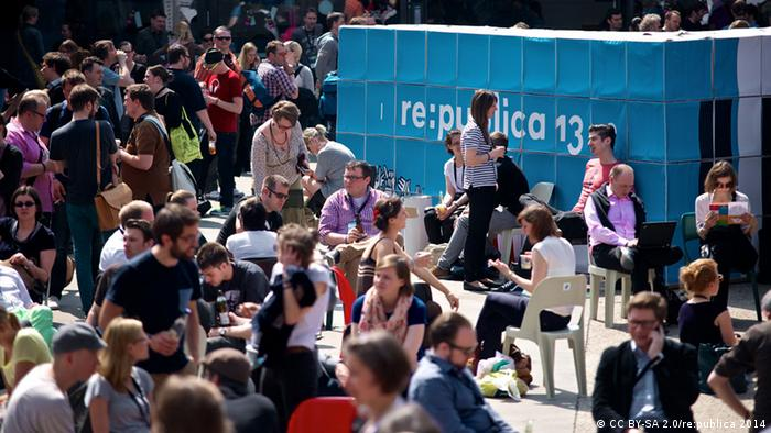 Crowds at re:publica