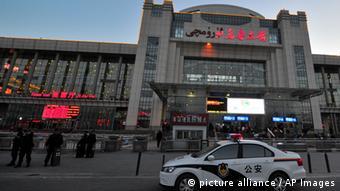 Urumqi China Explosion Bahnhof