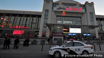 Explosion auf Bahnhof in Xinjiang Ürümqi