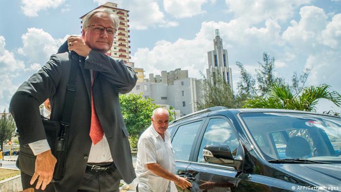 En Cuba, Christian Leffler, director para las Américas del Servicio Europeo de Acción Exterior