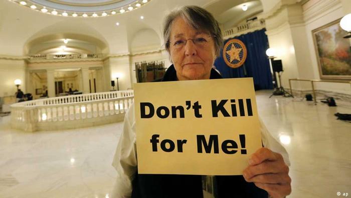 Todesstrafe usa aktuell