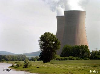 A German nuclear power plant near Hameln