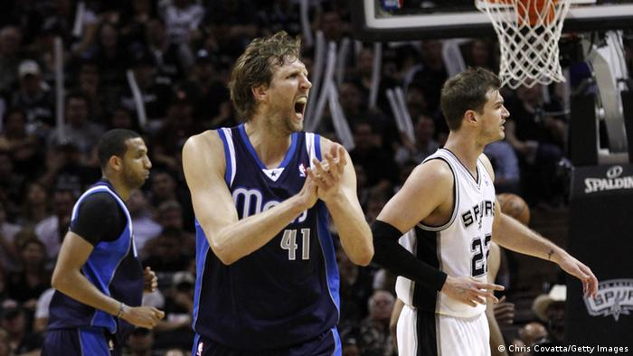 NBA Dirk Nowitzki Dallas Mavericks San Antonio Spurs
