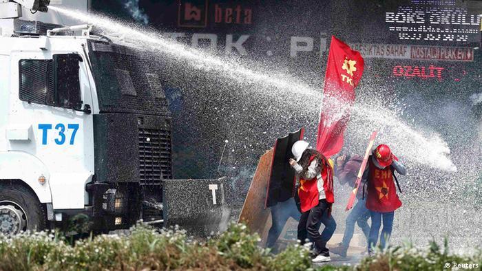 Istanbul Türkei Proteste Demonstration 1. Mai