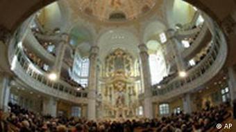 Weihe der Frauenkirche in Dresden