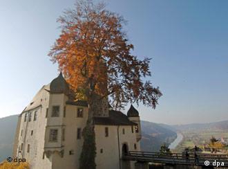 En el valle de Altmühltal.