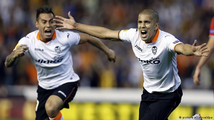 Europa League Valencia gegen Sevilla