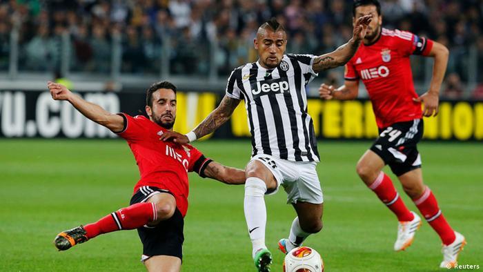 Europa League Juventus gegen Benfica