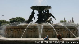 Triton-Brunnen in Valletta, Malta (Foto: afp)