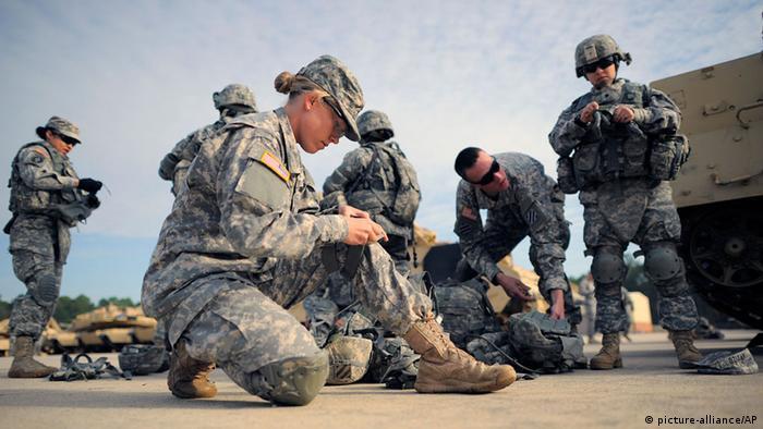 Symbolbild Soldatinnen in der US-Armee