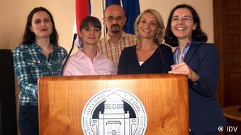 Der Vorstand des kroatischen Deutschlehrerverbands (Foto: KDV)