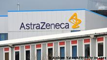 Logo des Pharmakonzerns AstraZenica (Andrew Yates/AFP/Getty Images)