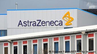 Logo des Pharmakonzerns AstraZenica (Andrew Yates/AFP/Getty Images)