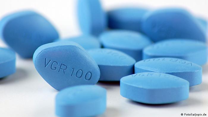 Viagra-Tabletten des Pharmakonzerns Pfizer