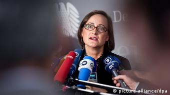 Martina Renner Die Linke (picture-alliance/dpa)