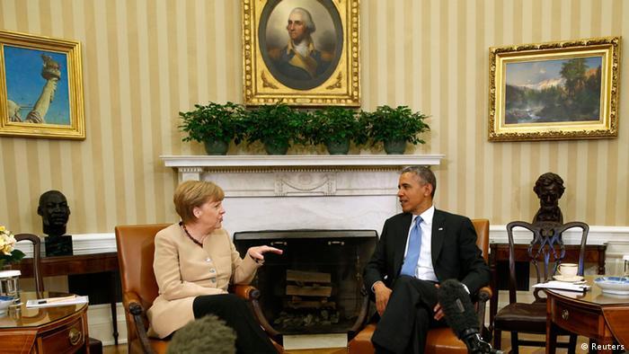 USA Deutschland Pressekonferenz Merkel Obama 02.05.2014