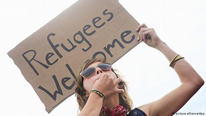 Proteste gegen Flüchtlingsheim Berlin-Hellersdorf