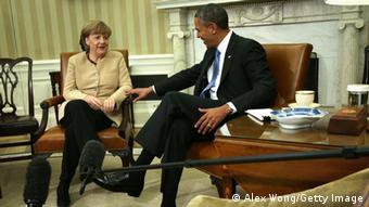 USA und Deutschland: Angela Merkel und Barack Obama in Washington (Foto: Getty Images)
