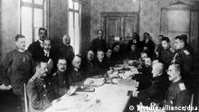 1. Weltkrieg Friedensvertrag von Brest-Litowsk