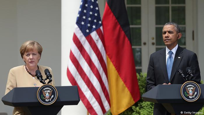Angela Merkel und Barack Obama 2.5.2014