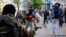 Zusammenstöße in der Ukraine Odessa 2.5.2014
