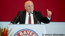 Mitgliederversammlung des FC Bayern München Uli Hoeneß 2.5.2014