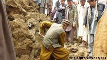 Afghanistan Erdrutsch Naturkatastrophe