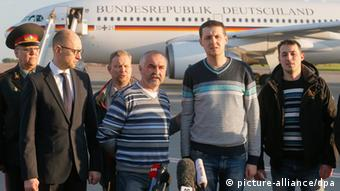 OSZE Beobachter Flughafen Boryspil 3.5.14
