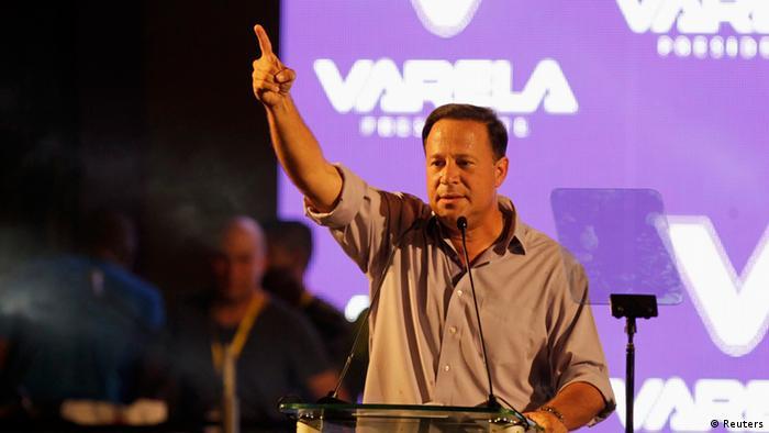 Panama Wahlen Juan Carlos Varela