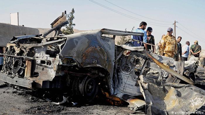 Bombenanschlag in Damaskus Syrien 3.5.14