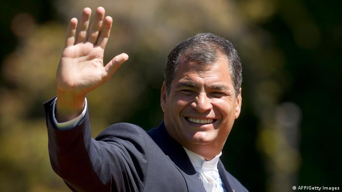 Rafael Correa, en imagen de archivo
