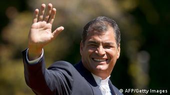 Rafael Correa (Foto: Claudio Reyes/AFP/Getty Images)