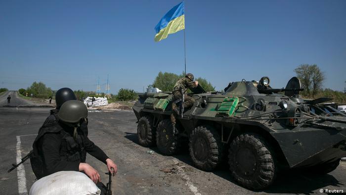 """Ucrânia retoma """"operação antiterrorista"""" contra separatistas no leste"""