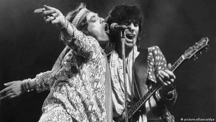 The Rolling Stones on June 16, 1976 in Zurich (picture-alliance/dpa)