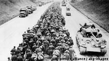 2. Weltkrieg erschöpfte deutsche Kriegsgefangene