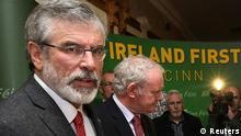 Gerry Adams nach Freilassung